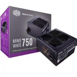 Boitier D'alimentation Cooler Master MWE 750 White