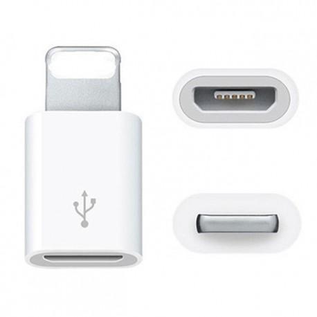 Micro USB à lightning (Adaptateur)