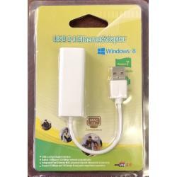 Adaptateur usb 2.0 à port Ethernet (RJ45)