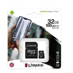 Kingston Canvas 32GB carte micro SD