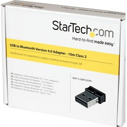 StarTech.com Mini USB Bluetooth 4.0 Adapteur - 10m Class 2