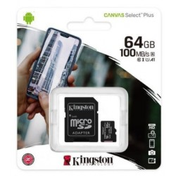 Kingston Canvas 64GB carte micro SD