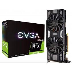 EVGA GeForce RTX 2060 Super SC Black Gaming 8Go GDDR6