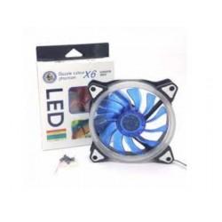 Ventilateur pour Boîtier 120mm Dazzle Colour Phantom X6 LED