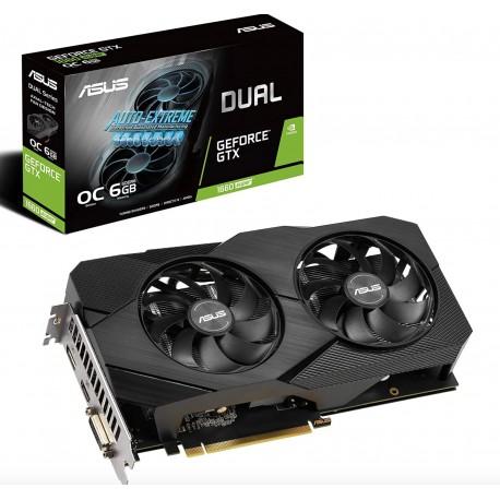 Asus Dual Geforce GTX 1660 Super 8Gb GDDR6