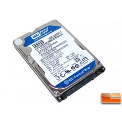 """Western Digital 500GB interne 2.5"""""""