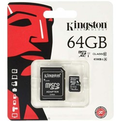 Kingston 64GB carte micro SD