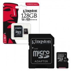 Kingston 128GB carte micro SD