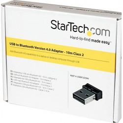 StarTech.com Mini USB Bluetooth 4.0 Adapteur - 10m Class 2